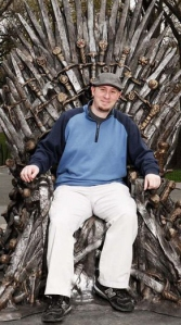 sitting on throne of swords