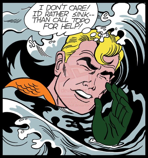 Is that you, Aquaman?